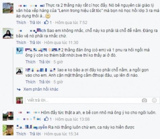 Những bình luận của cư dân mạng về câu chuyện.