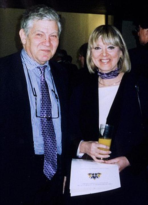 Giáo sư Jane Plant và chồng Peter cùng nhau chiến đấu căn bệnh ung thư hơn 20 năm.