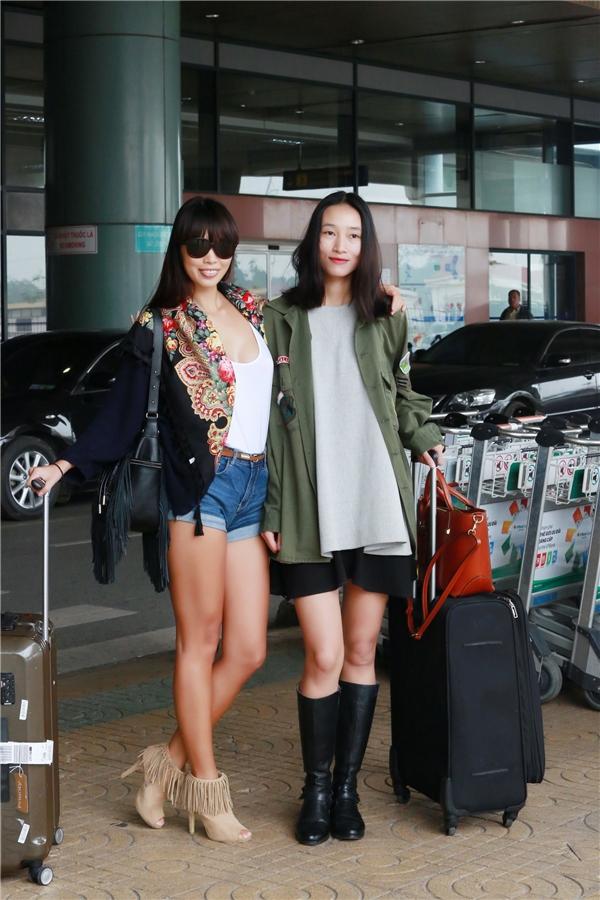 """Quán quân Vietnam's Next Top Model mùa đầu tiên nhận được rất nhiều sự hỗ trợ của """"đàn chị""""trong thời gian đầu mới bước chân vào làng thời trang chuyên nghiệp. - Tin sao Viet - Tin tuc sao Viet - Scandal sao Viet - Tin tuc cua Sao - Tin cua Sao"""