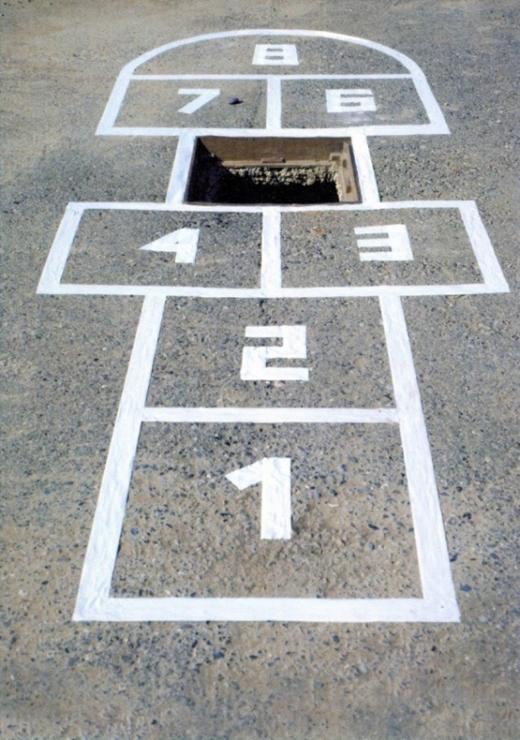 Quăng gạchvào ô số 5 là xác định lao mình xuống hố theo nó luôn.(Ảnh: Internet)