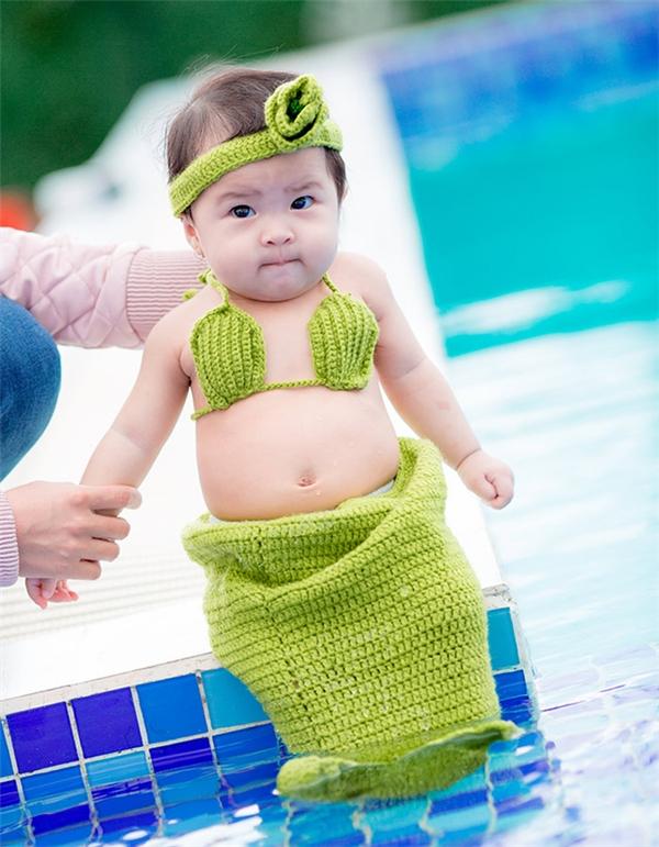 Em bé đáng yêu này tên là Nguyễn Ngọc Cát Vy, tên thường gọi là Susu, đến nay đã vừa tròn 7 tháng tuổi.