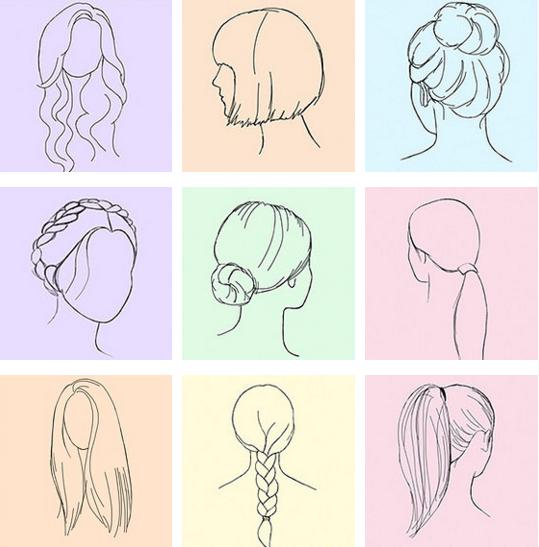 Trong 9 kiểu tóc trên, đâu là kiểu tóc khiếnbạn yêu thích nhất?(Ảnh: Internet)
