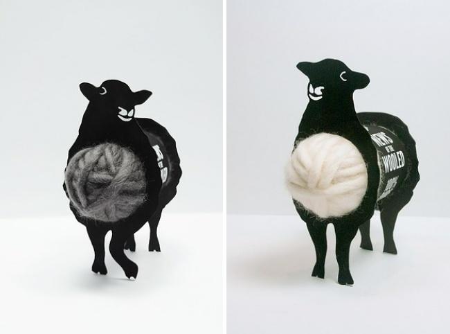 Chúng em là những con cừu vui nhộn, lông em đấy cứ lấy đi. (Ảnh: Bright Side)