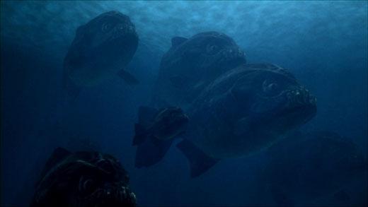 So với loài piranha hiện đại ngày nay, kích thước của chúng dài và lớn hơn gấp 3 lần.(Ảnh: Internet)