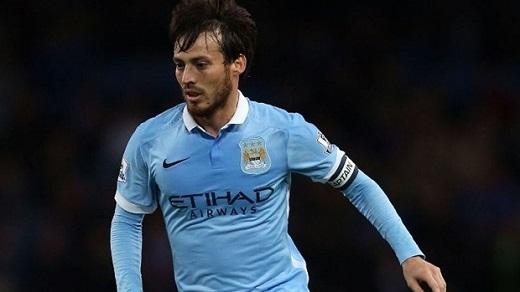 9. David Silva (Manchester City)– 210.000 bảng/tuần. (Ảnh: Internet)