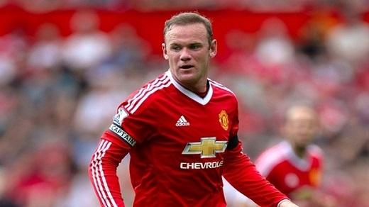 3. Wayne Rooney (Manchester United)– 250.000 bảng/tuần. (Ảnh: Internet)