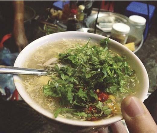 Thỉnh thoảng súp cua còn thay thế cho cả bữa sáng. (Ảnh: Internet)