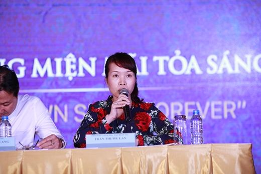 """Đại diện đơn vị tổ chức, bà Nguyễn Thị Mỹ Lan cho biết:""""Là một Tập đoàn kinh tế tư nhân hoạt động trong lĩnh vực bất động sản du lịch nghỉ dưỡng, sở hữu nhiều quần thể du lịch nghỉ dưỡng sinh thái trải dài từ Bắc vào Nam, FLC mong muốn đóng góp cho sự quảng bá du lịch Việt Nam ra thế giới, để từ đó thu hút bạn bè thế giới đến với Việt Nam""""."""