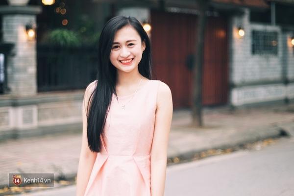 Cô bạn Trần Minh Phương Thảo đang là sinh viên khoa Kinh tế Luật, trường ĐH Thương Mại Hà Nội.