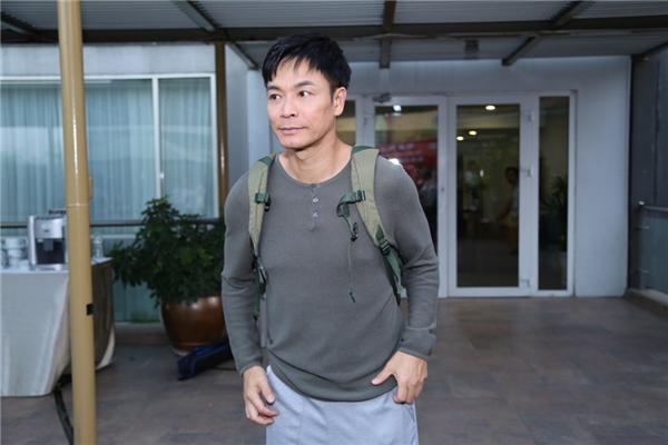 Quách Tấn An xuất hiện trong buổi khai máyđoàn phim.