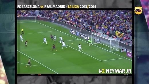 Một bàn thắng khiến tất cả khán giả phải nín lặng của Neymar.