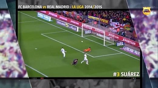 Suarez vẫn lên tiếng như thường dù đó là El Clasico.