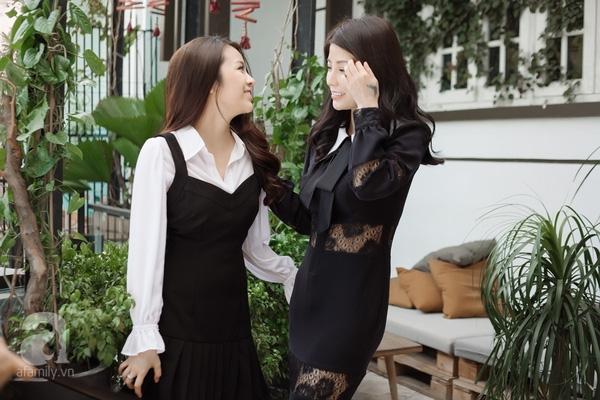Gặp cặp mẹ con chênh nhau 20 tuổi, nhưng con mượn đồ của mẹ mặc là chuyện bình thường