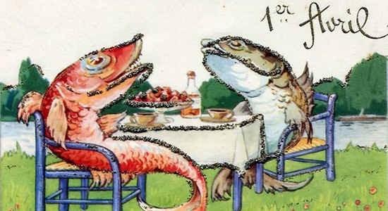 Nhiều trò đùa lố thường xuất hiện trong ngày ngày Cá tháng tư Ảnh: Aprilfoolsdayidea