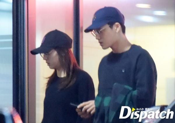 Dispatch tung loạt hình hẹn hò của Kai và Krystal