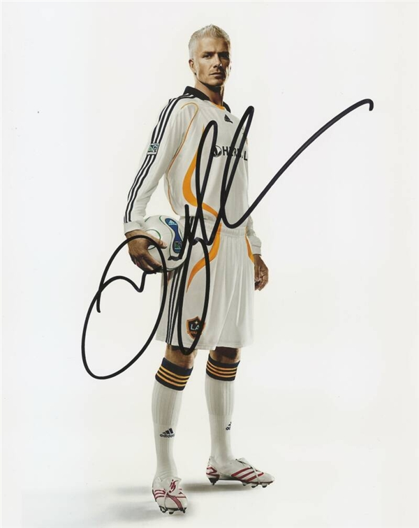 David Beckham, ký cho có. (Ảnh: Internet)