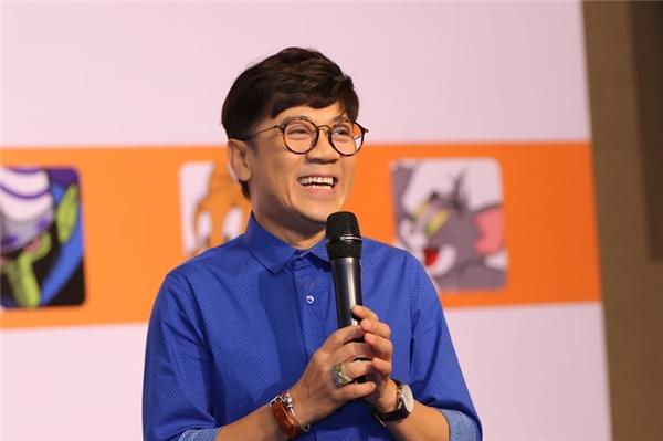 NSƯT Thành Lộc rất hào hứng trong sự kiện lớn.