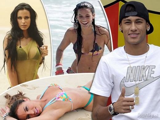 Neymar được rất nhiều cô gái mê như điếu đổ. (Ảnh: Internet)