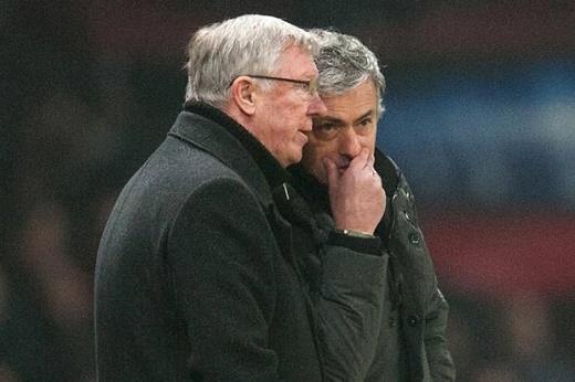 Sir Alex không tin tưởng khả năng thành công của Mourinho?.(Ảnh: Internet)