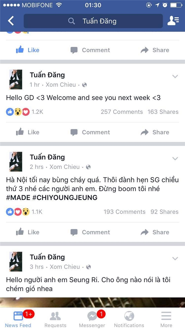 Tiếp sau Seung Ri, G-Dragon sẽ đến Việt Nam?