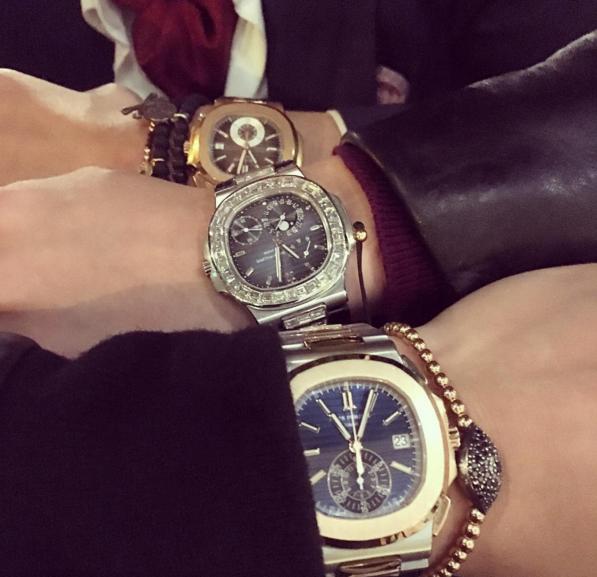 3 chiếc đồng hồ này có giá khoảng 400.000$.