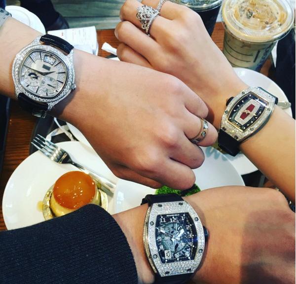Có thể thấy Richard Mille và Patek Phillipe Nautillus là hai thương hiệu đồng hồ được Denis Do cực yêu thích.