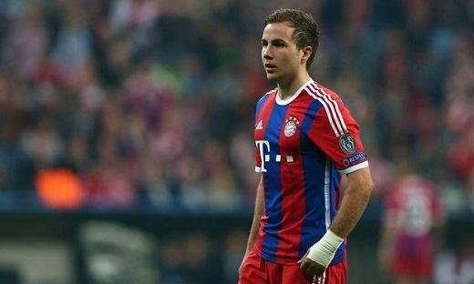 Goetze không tìm được chỗ đứng tại Bayern Munich. (Ảnh: Internet)