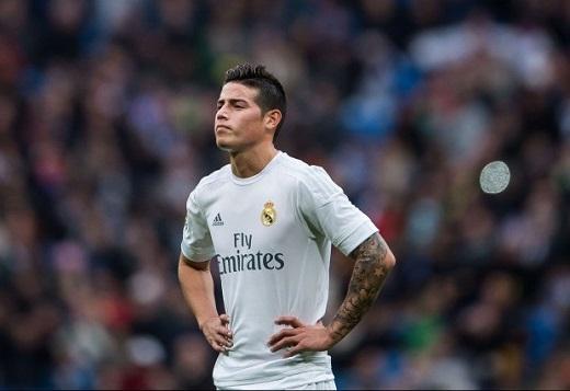 James Rodriguez nhiều khả năng sẽ chia tay Real ngay trong mùa Hè này. (Ảnh: Internet)