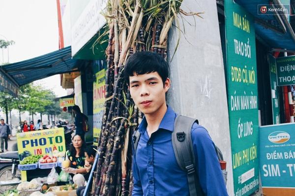 Dương Đình Kỳ (sinh viên ĐH Công nghiệp).