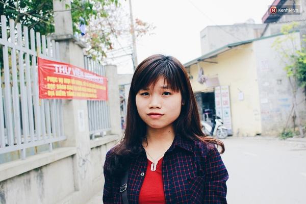 Nguyễn Thị Chinh (sinh viên ĐH Công nghiệp).