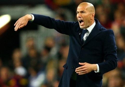 Zidane được khen ngợi hết lời sau trận Siêu kinh điển. (Ảnh: Internet)