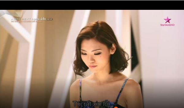 Sang In-Đại diện Hàn Quốc tại Asia's Next Top Model 2016 phải cúiđầu xin lỗi khi bị mắng nhiếc.