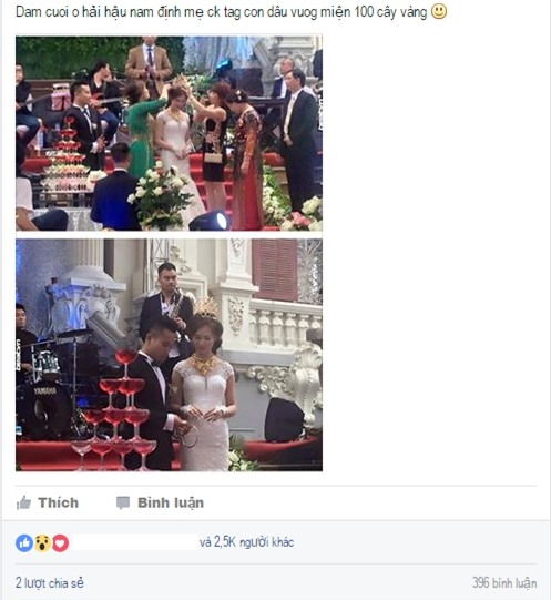 """Đã có nhiều bình luận trái chiều xoay quanh """"siêu""""đám cưới này.(Ảnh: Internet)"""