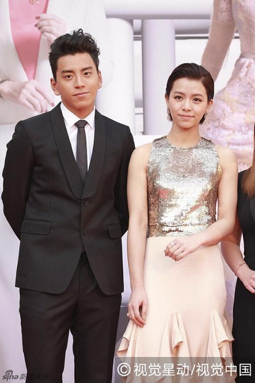 Hai diễn viên trẻ Vương Đại Lục và Tống Vân Hoa. (Ảnh: Internet)