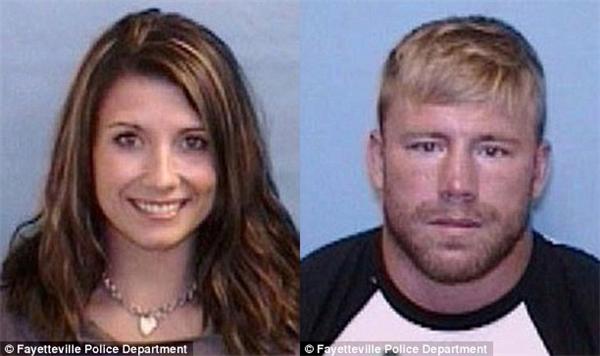 Cặp đôi bị bắt giữ vào tuần trước, 2 tháng sau cái chết tàn bạo của cô bé gái. (Ảnh: Internet)