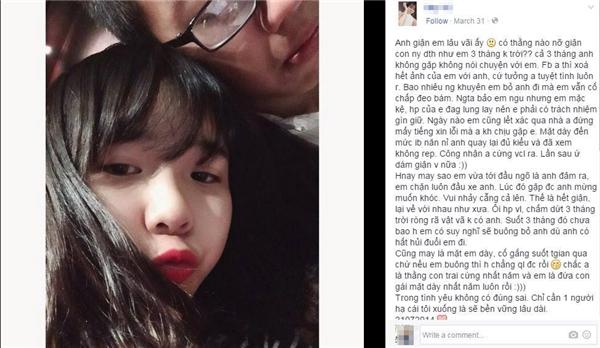 Tâm thư của cô gái bị bạn trai giận 3 tháng gây sốt cộng đồng mạng