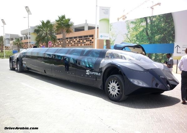 Với giá trị 7 triệu bảng Anh (gần 222 tỉđồng), chiếc siêu bus này có thể chở đến 23 hành khách.