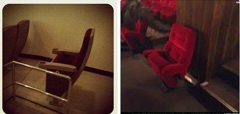 Ngay cả trong rạp kịch hay rạp phim cũng có chỗ cho ai độc thân. (Ảnh: Internet)