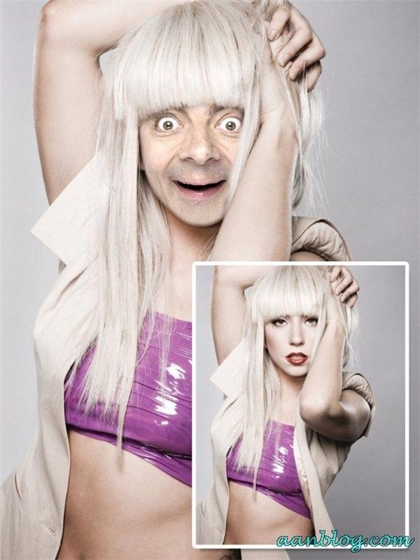 """Về khoản biểu cảm và mặt mộc tự tin thì Lady Gaga còn thua xe """"Ngài Đậu"""" nhé. (Ảnh: Internet)"""