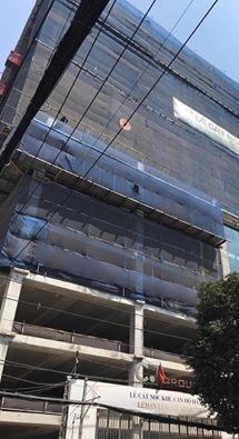 Hình ảnh về tòa nhà Leman đượcđăng tải kèm theo.Cô cho biết, sẽ chính thức kiện công ty ra tòa đồng thời sẽ cập nhật tin tức để mọi người có thể theo dõi.