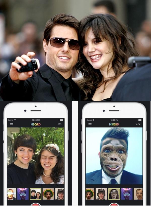 """Năm 2006, người ta đã biết chụp selfievà vì smartphone chưa ra đời nên hầu hết đều chụp theo kiểu """"hên xui"""". Hiện tại, selfie đã nâng tầm, người ta không những hoán đổi khuôn mặt cho nhau mà còn ghép mặt của người khác vào mặt mình."""
