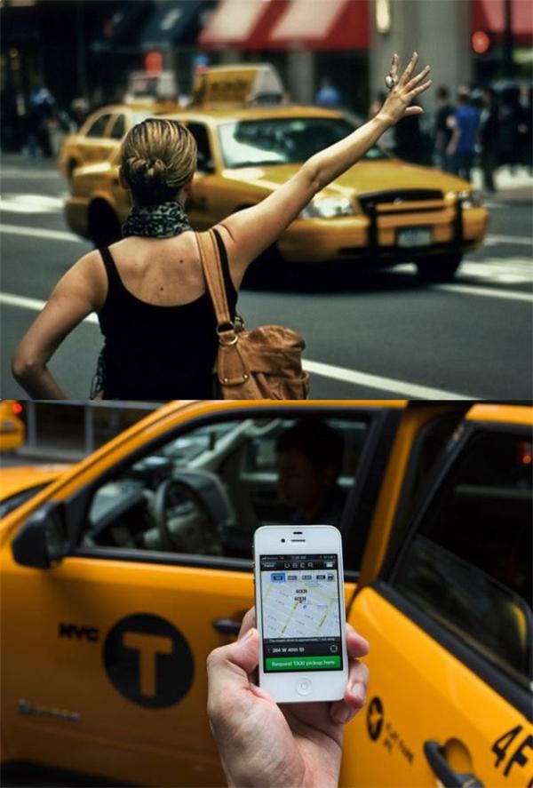 Sự thay đổi trong cách gọi xe taxi sau 10 năm.
