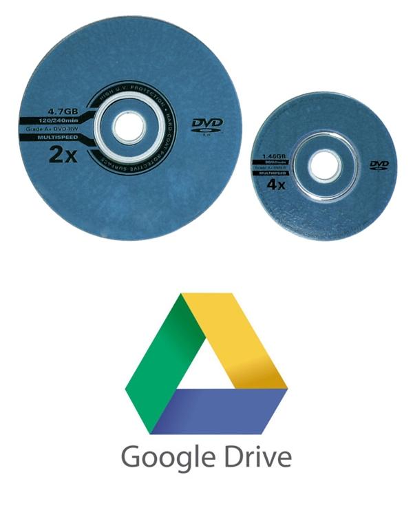 """Thời đó người ta lưu trữ thông tin có dung lượng lớn chủ yếu vào những chiếc đĩa DVD, 1 chiếc USB 2GB được xem là """"chất"""". Ngày nay người ta chỉ việc vào Google Drive."""