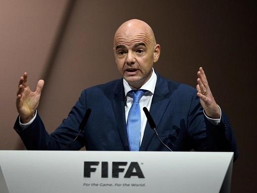 Tân Chủ tịch FIFAGianni Infantino. (Ảnh: Getty Images)