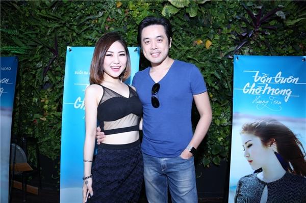 Dương Khắc Linh cũng có mặt trong buổi ra mắt MV. - Tin sao Viet - Tin tuc sao Viet - Scandal sao Viet - Tin tuc cua Sao - Tin cua Sao