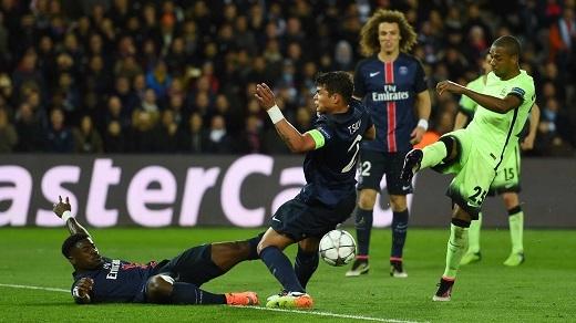 Đêm qua, Man City đã rời sân Parc Des Princes với nụ cười mãn nguyện. (Ảnh: Internet)
