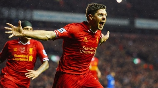3. Steven Gerrard – 21 bàn. (Ảnh: Internet)