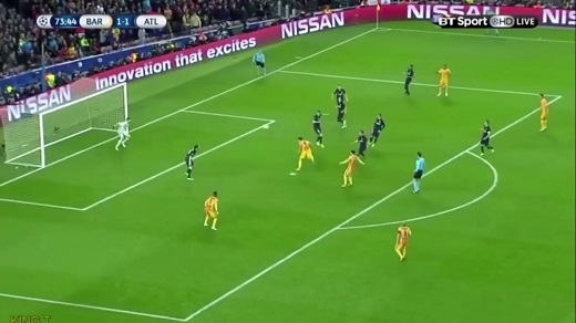 Suarez ghi bàn ấn định chiến thắng cho Barcelona