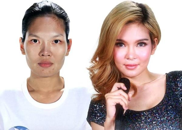 """Thikanporn """"Nae"""" Pongsuwan là một ca sĩ có ngoại hình không mấy bắt mắt. Sau khi tham gia Let Me In Thailand, cô nàng lập tức nhận được hợp đồng thu âm từ một hãng đĩa danh tiếng ở Thái Lan."""
