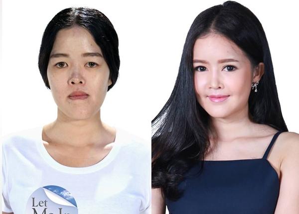 """Patcharaporn """"Toktak"""" Saiyawongsa khiến người đối diện không thể rời mắt vì nét đẹp tự nhiên dù đã được phẫu thuật thẩm mỹ sau khi tham gia Let Me In Thailand."""